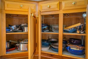 Simple Organizing tips in the kitchen using your prime real estate